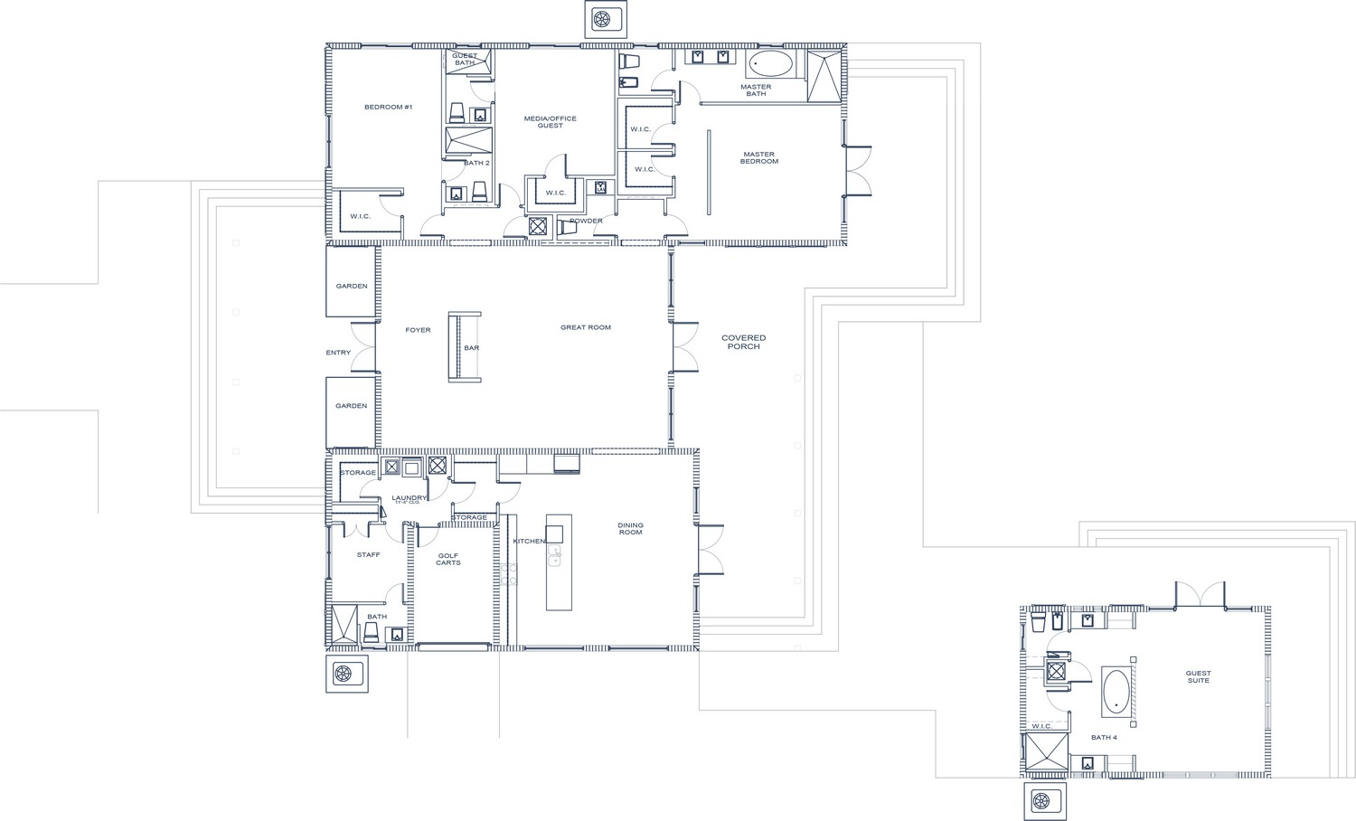 Feng shui estate home rockwell island luxury for Feng shui floor plan